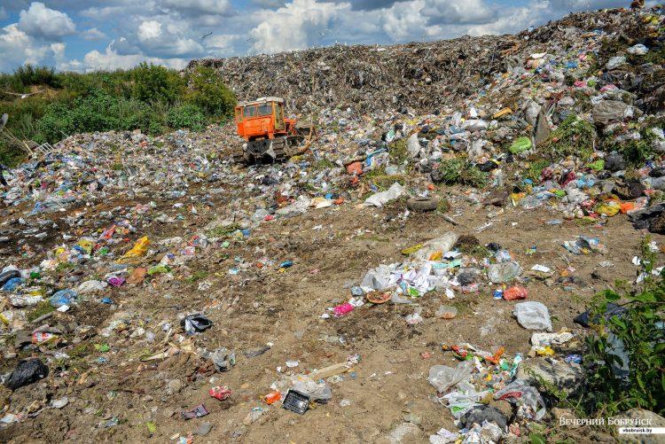 свалки мусора